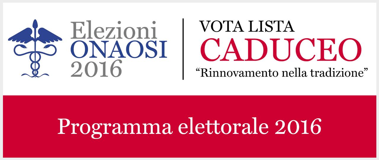 Programma elettorale 2016