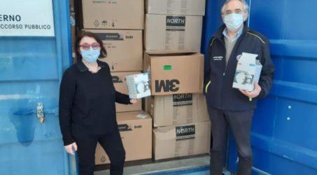 Associazione Caduceo Onlus ha donato mille mascherine ffp2 alla protezione civile